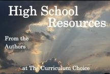 Home Education - High School / Homeschooling all the way through High School, it can be done! Here is a collection of ideas and inspiration from others from middle school to high school.