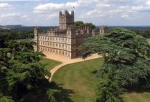 Highclere Castle - Downton Abbey / The real Downton Abbey = Highclere Castle. I visited Highclere in 2014 and it is amazing!