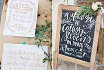 Calligraphy & Hand Lettering / by Allie Pesch