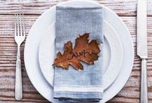 Happy Thanksgiving / Creative ideas, recipes, and decorating tips for the perfect Thanksgiving.