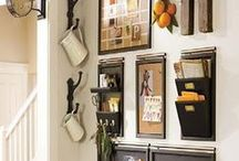 Home Organization / Great ideas for home organization. DIY for home decor and family organization.