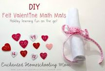 St. Valentine's Day / Easy and simple St. Valentine's Day activities and treats for the family.