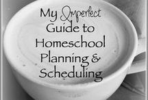 Home Education - Planning / Lots of great links on how different homeschool moms plan their year. Tips and tricks for homeschool planning. Tons of FREE homeschool planning pages too.