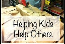Bucket Filling Activities & Ideas / Ideas for encouraging bucket filing in your home and neighborhood - service ideas for families