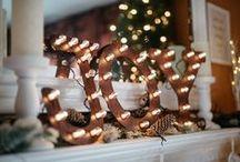 Christmas Decor / Home decor inspiration for Christmas.
