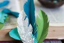 Paper Crafts DIY / Handmade paper crafts. Adorable DIY ideas with paper.