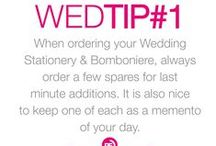 Wed Tips With Miss PF / Stressed about your wedding? Need some advice? Miss Pf has your back!
