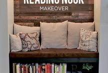 Reading Spaces / Reading Spaces - creative and easy DIY reading nooks for the whole family