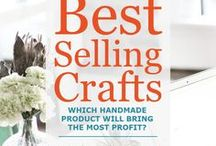 Starting a Craft Business / Starting a craft business? Are you in the thinking / dreaming / planning stages of selling your crafts? Here are tips to get your new adventure off to a great start.
