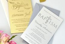 Baby/Christening/Baptism Invitations