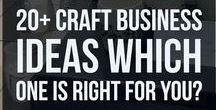 Craft Business Ideas / Lots of craft business ideas. Smart ways to develop your creative business so you can build a business that works with your own strengths and resources, and meets your unique expectations for success.