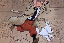 Tintin Art and Illustration