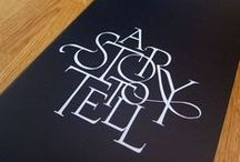 Typography / Typography that is fun, interesting and conceptual. / by Nicholas O'Connor