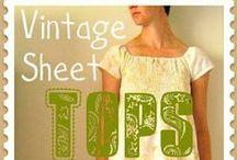 Vintage Sheets Fashion