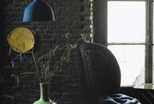 Grey area /gray area / Dark moody blacks and greys/grays for super stylish calm and edgy interiors