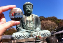 E Ink Microcapsule Travels the World