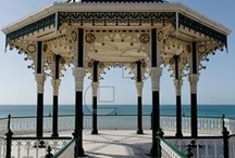 Brighton breezy / Brighton and Hove fun feisty arty city, England renowned for its regency architecture and seaside shopping