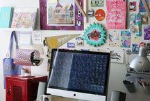 OFFICE SPACE / The home offices of Sallie & Andrew