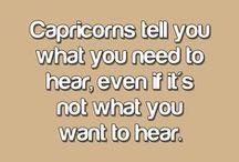 Capricorn / zodiac / by Tracy Lynn