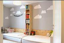 kids room. twins. / by Erika Strand-Berglund