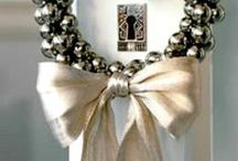 H | Christmas Season Decorations / Craft ideas for for the holiday / Christmas season