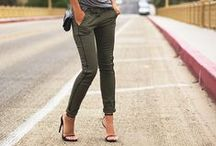 khaki love / fun and funky ways to add some khaki into your wardrobe from personal stylist Caitlin from Chasing Cait