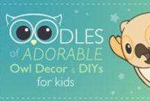 Adorable Owl Decor and DIYs for Kids