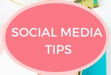 Social Media Tips / Tips for managing your social media platforms and how to grow your social following on your blog or website. Helpful resources for social media marketing.