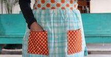 Aprons / Pretty aprons, Making aprons, Using Aprons, LOVE aprons