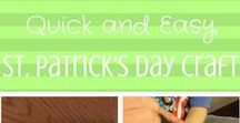 Pick a Holiday, Any Holiday / Holiday crafts and recipes for every holiday - Christmas, Valentines, Easter, St. Patrick, July 4th, Halloween, and Thanksgiving