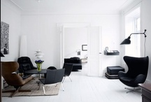 Black & White Rooms / Black & White Rooms / by STYLIZIMO