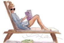 Inslee Haynes * Fashion Illustration / by Rachael Collins