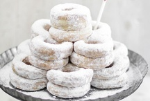 Donuts and Doughnuts / However you like to spell it, they are all delicious!