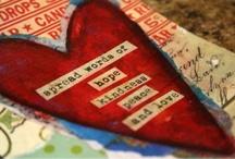 hearts - mixed media ETC / by Deborah Woo