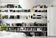 Styling with books / books, book shelves