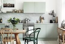 Green / Green interior / by STYLIZIMO