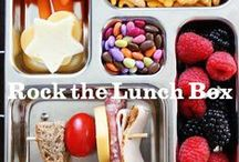 Rock the Lunch Box / Think outside the lunchbox with these rocking ideas on what to pack! Cute kid-friendly lunch ideas, bento boxes, ways to incorporate fresh veggies, and more. www.rockthelunchbox.com / by Annie's Homegrown