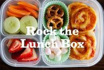 Rock the Lunch Box / Think outside the lunchbox with these rocking ideas on what to pack! Cute kid-friendly lunch ideas, bento boxes, ways to incorporate fresh veggies, and more. www.rockthelunchbox.com