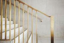 Golden / Gold, brass, interior