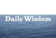 Daily Wisdom / by Annie's Homegrown