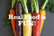 Real Food is FUN! / Teaching little ones where food comes from instills healthy & sustainable eating habits that last a lifetime. Grab some seeds, a little dirt and some creativity below to get started! #RealFoodisFun / by Annie's Homegrown