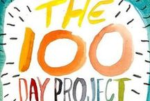 #the100dayproject / art journal pages, drawings, photos, collage etc / by Deborah Woo