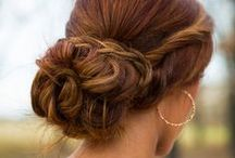 Wedding Hair / Elegant wedding hair inspiration. Pretty ideas for bridal hair, including wedding updos, long wedding hairstyles, and more!   / by Project Wedding