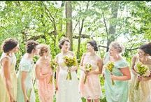 Bridesmaid Dresses / Bridesmaid dresses. Find the perfect bridesmaid dress for your wedding with these inspiration ideas.  / by Project Wedding