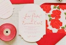 Wedding Invitations / Wedding invitation inspiration for your wedding day.