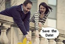 Save the Dates / Save the date ideas. Announce your wedding in style!