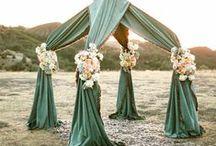 outdoor wedding decor / arbors, pergolas, archways, etc