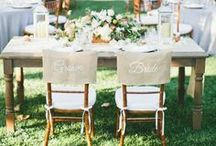 Burlap Décor / Going for a rustic wedding look? Or maybe you're inspired by vintage? You'll find all of our favorite ways to incorporate burlap into your wedding day! / by Project Wedding