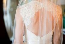 Beautiful Backs / Wedding dresses with lace backs, open backs, low backs, and other pretty back details.