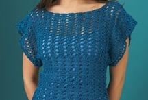 Crochet Plus Size Clothing / by Bekah Martinez Johnson